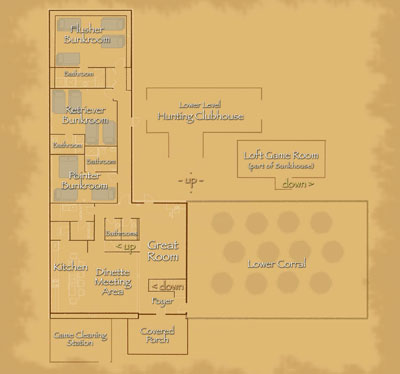 Bunkhouse Floor Plan 400